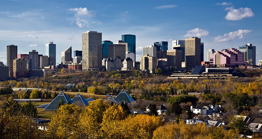 Image result for downtown edmonton